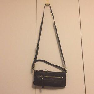 Handbags - Little black clutch and Crossbody
